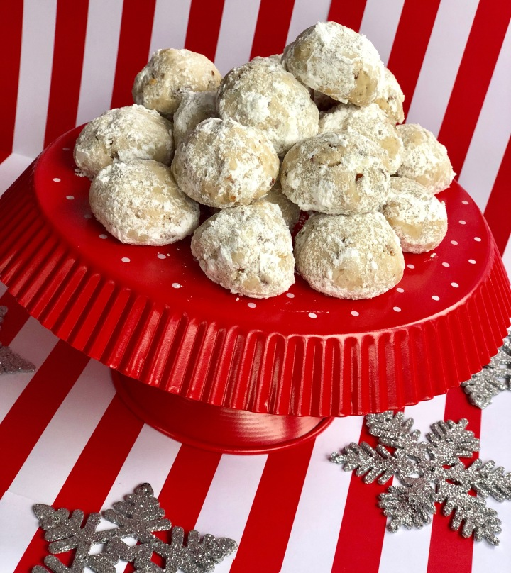 Whip It Up Wednesday: SnowballCookies