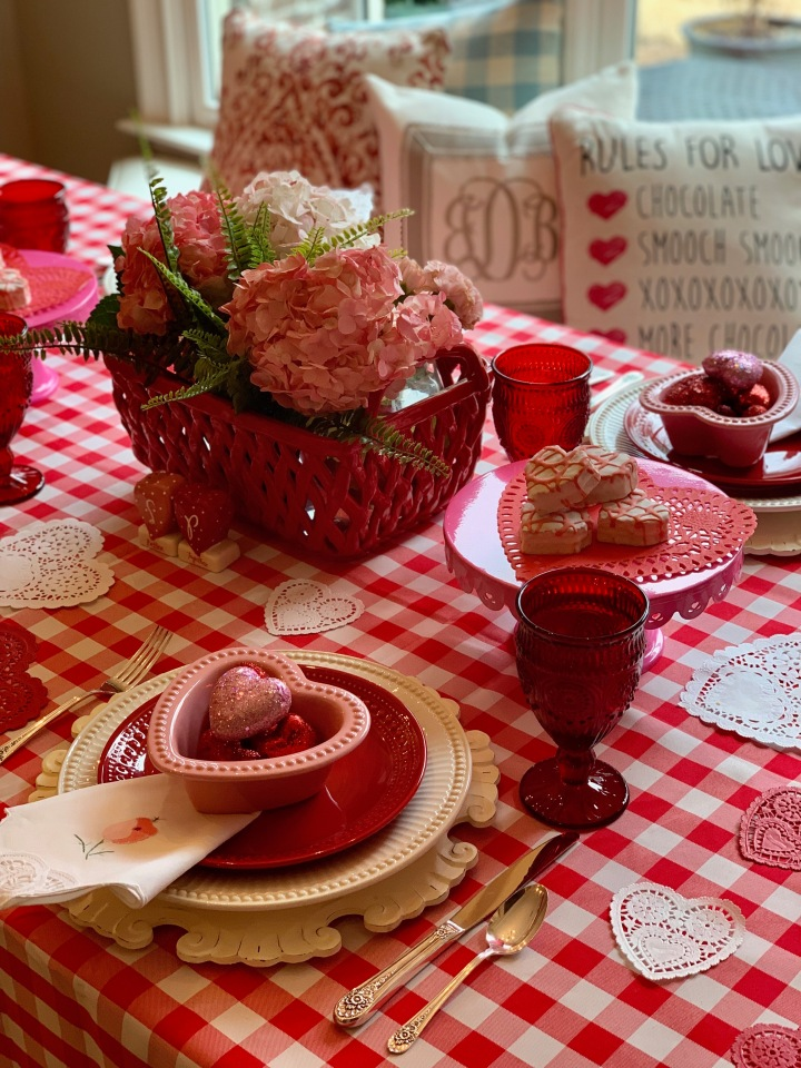 Valentine Tabletop Tuesday