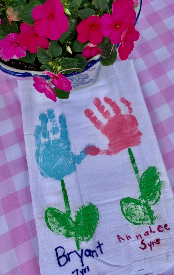 Mother's Day DIY Tea Towels
