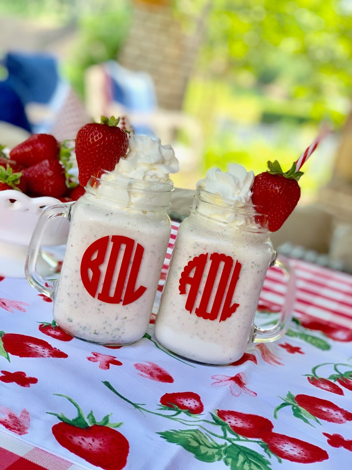 Whip It Up Wednesday: Strawberry Smoothie