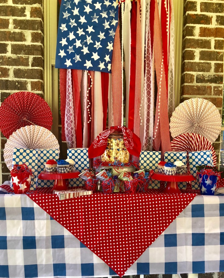 Kid's July 4th Party Bar