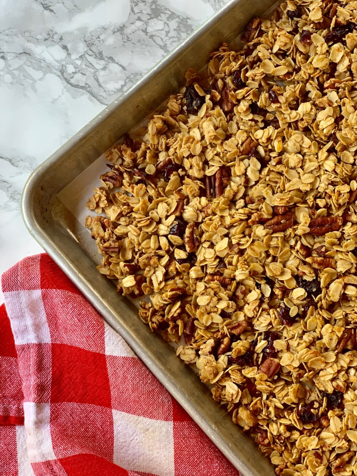 Whip It Up Wednesday: Homemade Granola