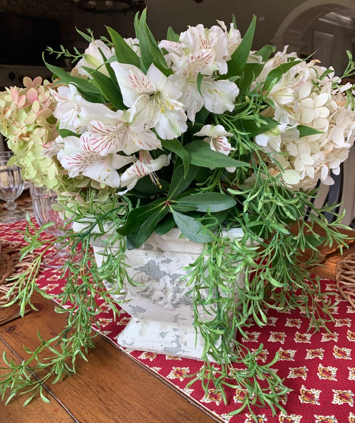 Flower Arranging Tips from a Novice