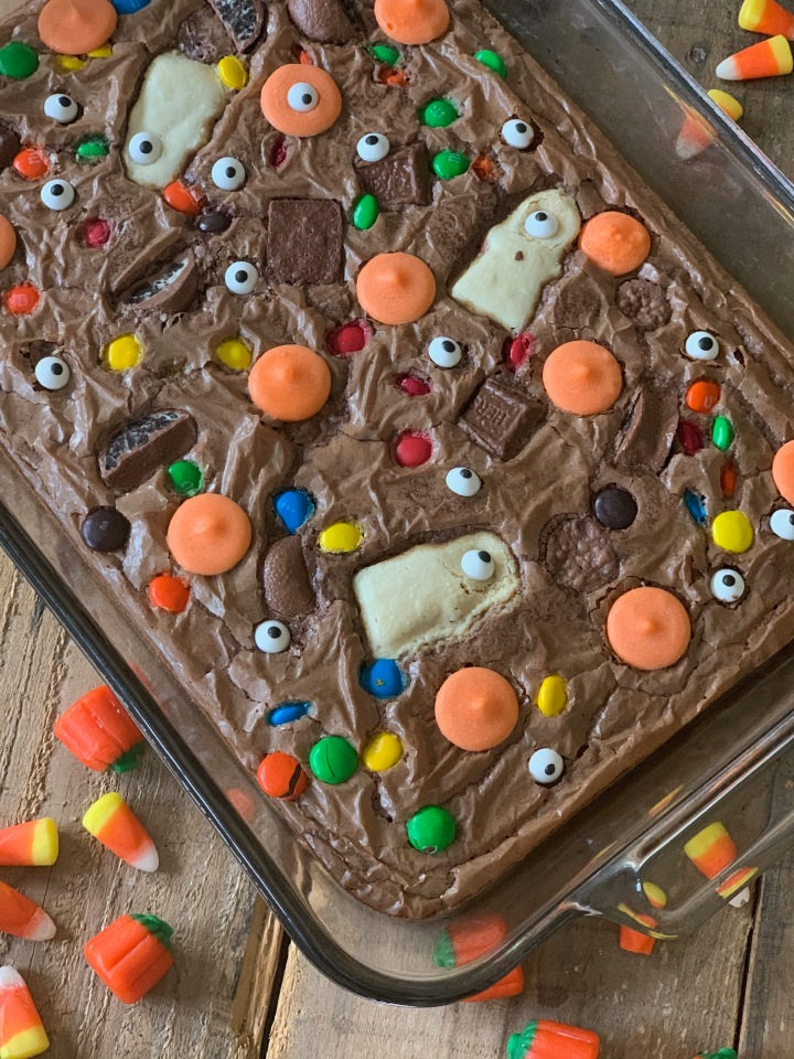 Whip It Up Wednesday:  Crazy Halloween Brownies